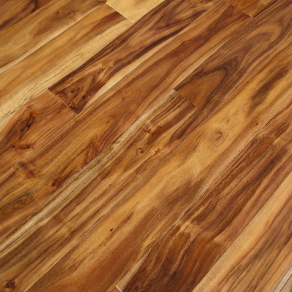 Natural Hand Scraped Acacia Wood Flooring